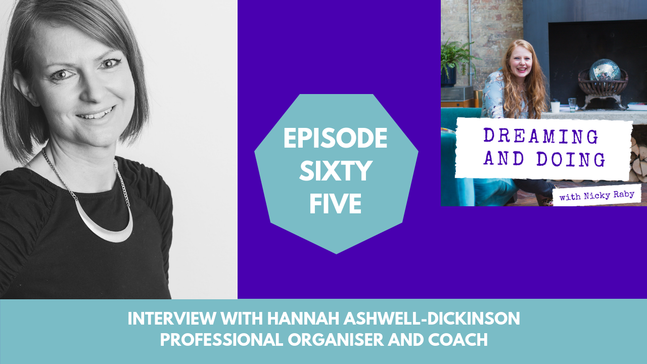 PODCAST: Hannah talking to life coach Nicky Raby