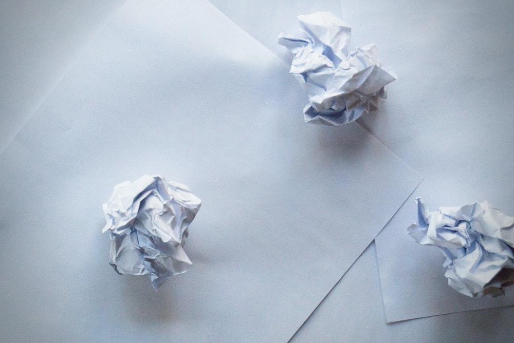 Decluttering paperwork